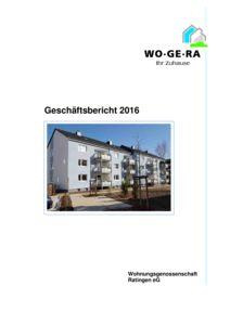 thumbnail of Geschäftsbericht WO-GE-RA 2016