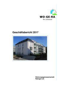 thumbnail of Geschäftsbericht 2017