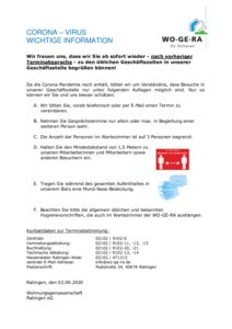 thumbnail of Publikumsverkehr im Büro 2020-06-02