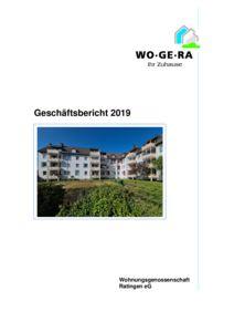 thumbnail of Geschäftsbericht 2019